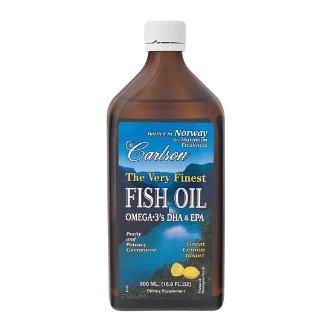 Carlson cod liver oil